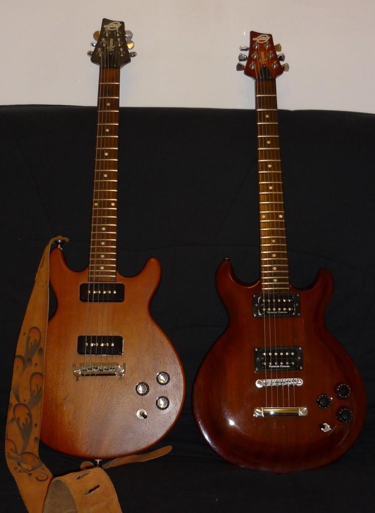 lag roxanne vintage 2000 p90 wolftone guitare lectrique. Black Bedroom Furniture Sets. Home Design Ideas